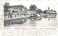 Mulhausen,Germany, (Mulhouse,France)Bassin u.Nordl.Plattform,Alsace,Used,1906