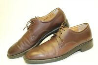Salvatore Ferragamo Mens Size 8.5 D Leather Lace Italy Made Oxford Shoes VF6100