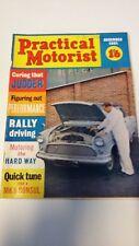 Practical Motorist Magazine Dec 1961 M.G Midget, Morris Minor. Vintage Adverts
