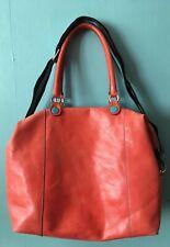 Sac gabs Italy transformable shopping sac à main bandoulière cuir corail fleur