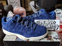 Nike Air Jordan Retro XI 11 Low Derek Jeter RE2PECT Binary Blue Sail AV2187-441