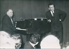Gilles et Julien 1952 - Duo Groupe Chanteurs Piano  Paris - PR 855