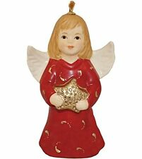 Anniversary Goebel Annual Angel Bell Commemorative Edition-Ruby Red
