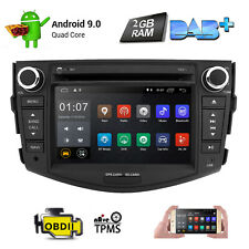 Fit Toyota RAV4 2006-2012 Android 9.0 Car DVD GPS Navigation Wifi Radio Stereo