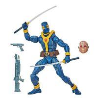 """Marvel Legends 6"""" Blue and Gold DEADPOOL Action Figure (Strong Guy BAF)"""