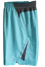 New NIKE LeBRON BASKETBALL SHORTS Lightweight Stay Cool Breathable Turquoise L