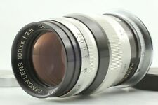 【EXC++++】 Canon 100mm f/3.5 for Leica screw L39 LTM Lens from JAPAN 1037