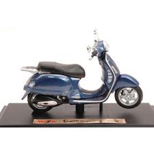 VESPA GRANTURISMO 2003 BLUE 1:18 Maisto Moto Die Cast Modellino