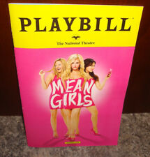 Mean Girls The Musical Pre-Broadway DC Nathional Theatre Playbill Tina Fay