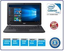 "Acer Aspire ES1-331 13.3"" Intel N3050 1.60GHz 2GB 32GB SSD W10 Netbook Laptop"