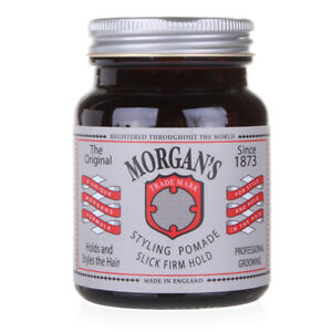 Morgan's Original Men's Premium Hair Styling Pomade Extra Firm Strong Hold 100ml