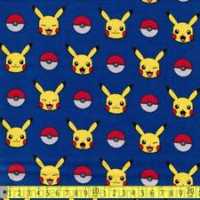 Robert kaufman tissu moustaches /& Tails laine Fun chats bleu demi mètre