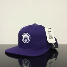 OSIRIS SHOES STANDARD SNAP BACK PURPLE WHITE CAP HAT (ONE SIZE)