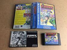 Comix Zone-Sega Mega Drive probado/trabajo PAL Reino Unido