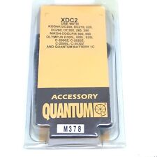 Quantum Instruments XDC2 Battery Power Cable for Nikon Kodak Olympus Minolta O