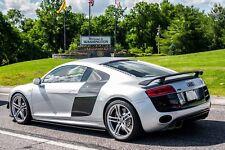 2008-2015 AUDI R8 CARBON FIBER SIDE SPLITTER EXTENSIONS FOR V8 & V10