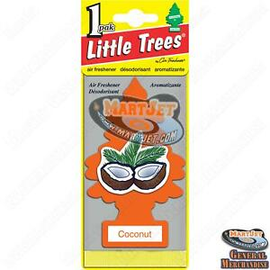 Little Trees - Coconut Scent 1pc Car Mirror Hanging Air Freshener Home Office