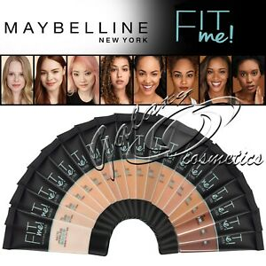 Maybelline FIT ME! Matte & Poreless Foundation Normal to Oily Skin 30ml