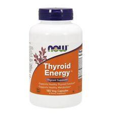 NOW Foods THYROID ENERGY - 180 veggie capsules Healthy Thyroid Support