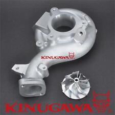 Kinugawa MHI 4B11 EVO X / 10 Upgrade Turbo Compressor Housing + Billet Wheel 20G