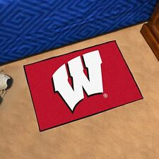 "Wisconsin Badgers 19"" X 30"" Starter Area Rug Mat"
