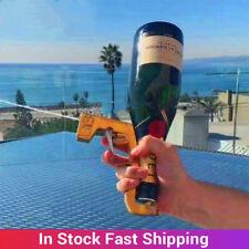 Zinc Alloy Champagne Sprayer Gun Dispenser Beer for Wedding Party Kitchen 2021