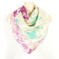 PASSIGATTI Seidentuch Schal Scarf Silk Multicolor Puder Minze