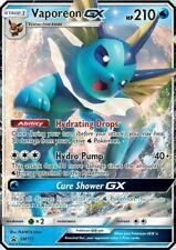 Vaporeon GX SM172 Ultra Rare Promo Pokemon Card (Elemental Powers Tin Promo)