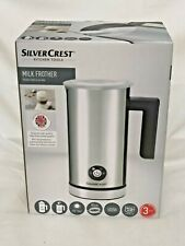 Silvercrest Electric Milk Frother Hot Warmer & Cold Frothing Function New Sealed