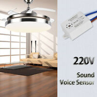 Module 220V Controller Sound Voice Sensor Intelligent Auto On/Off Light Switch