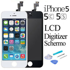 Touch Screen + LCD Display Retina +Frame Vetro Schermo Per iPhone 5/5C/5S