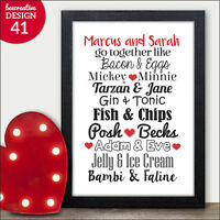 PERSONALISED Valentines Day Gifts for Him Her Husband Wife Boyfriend Girlfriend
