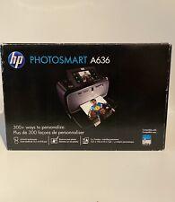 HEWLETT PACKARD PHOTOSMART A636 TOUCH SCREEN BRAND NEW INKJET PRINTER CLASSIC