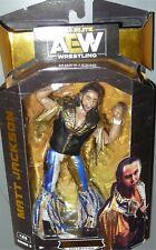 MATT JACKSON AEW Jazwares Unrivaled Series 3 #21 Wrestling Action Figure DMG PKG
