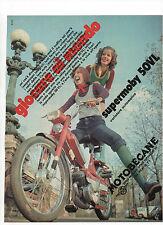 Pubblicità 1972 MOTOBECANE SUPERMOBY MOTO MOTOR advertising werbung publicitè
