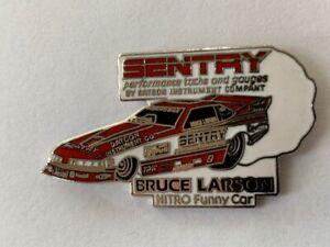NHRA Bruce Larson Nitro Funny Car Pin
