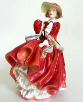 Vintage Made in England Royal Doulton Figurine Top o'the Hill HN #1834 CHRISTMAS