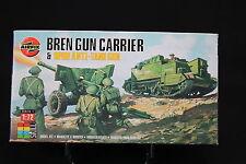XM026 AIRFIX 1/72 maquette voiture 01309 Bren Gun Carrier & 6PDR Anti Tank Gun
