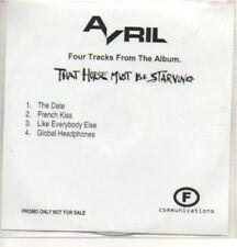 (118K) Avril, The Date - DJ CD