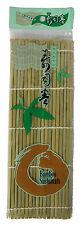 Natural Bamboo Sushi Mat California Roller 10.5x10.5inch / 27x27cm free shipping