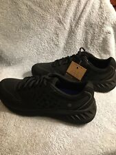 Shoes for Crews Women's Size 9 Black Slip Resistant Work Sneakers NEW