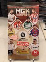 2020-21 Panini Megacracks MGK La Liga Santander Soccer Futbol Trading Card Pack