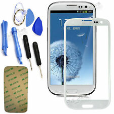 White Replacement Screen Glass Lens Kit For Samsung Galaxy S3 Mini i8190 + Tools