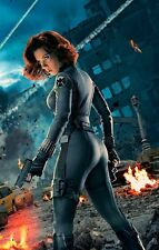 "The Avengers - Black Widow ( 11"" x 17"" ) Movie Poster Print - B2G1F"