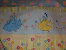 Disney Princess Twin Flat Sheet And Pillowcase Bedding Snow White Belle