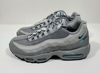 Nike Air Max 95 Mens Running Shoes Particle Grey Black Blue Fury Size 7