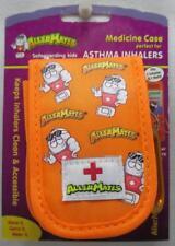 AllerMates Medicine Case Perfect for Asthma Inhaler & Refill Orange