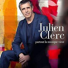 JULIEN CLERC - PARTOUT LA MUSIQUE VIENT [LIMITED EDITION] NEW CD