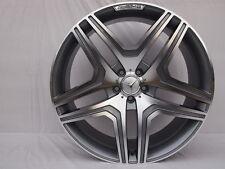 """22"""" G63 AMG STYLE RIMS Wheels 5x130 FITS MERCEDES G Wagon W463 G CLASS GUNMETAL"""