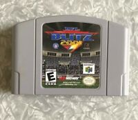 N64 NFL Blitz 2001 Football Nintendo 64 Authentic Cartridge TESTED Excellent!